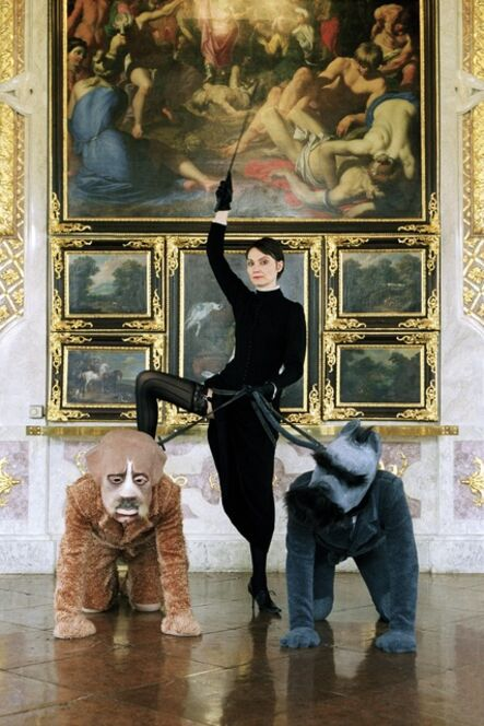 Katarzyna Kozyra, 'Lou Salomé Palais Schwarzenberg: Lou Salomé with Nietzsche and Rilke', 2005