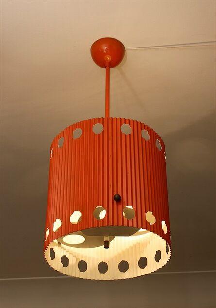 """Mathieu Matégot, 'Ceiling light, """"Java"""" model', 1954"""