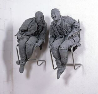 Juan Muñoz, 'Two Laughing at Each Other', 2000
