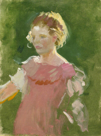 Charles Hopkinson, 'Girl in Pink', 19th -20th Century