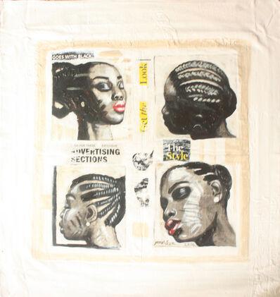 Joseph Eze, 'Hair Salon II', 2014