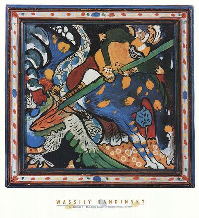 Wassily Kandinsky, 'Saint George I', 1996