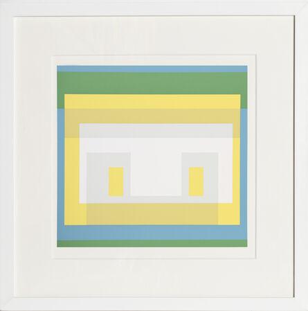 Josef Albers, 'Variant from Formulation : Articulation', 1972