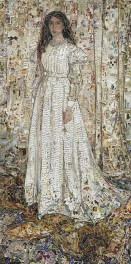 Vik Muniz, 'Pictures of Magazines 2: Symphony in White No 1: The White Girl, after James Whistler', 2013
