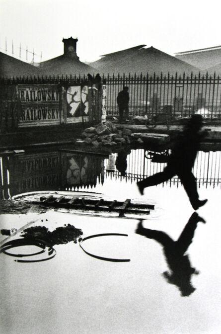 Henri Cartier-Bresson, 'Behind the Gare Saint-Lazare, Pont de l'Europe, Paris', 1932