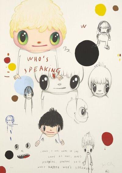 Javier Calleja, 'Who's Speaking', 2019