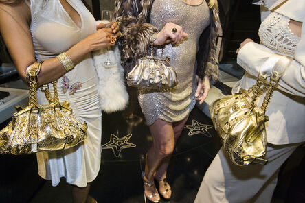 Lauren Greenfield, 'Jackie and friends with Versace handbags at a private opening at the Versace store, Beverly Hills', 2007