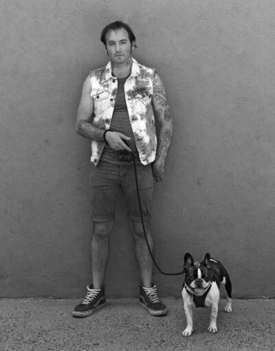 Robert Kalman, 'Jeffrey with Bruno', 2016
