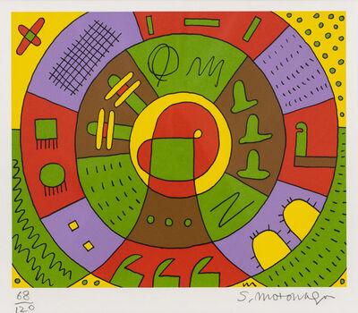 Sadamasa Motonaga, 'Circle', 1982