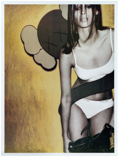 KAWS, 'Christy Turlington, Tokion Poster', 1999