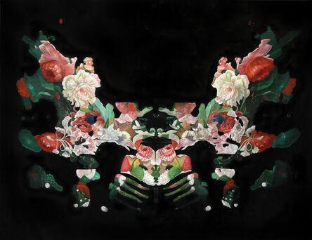 """Alexis Mata, '""""Rorschach Flower Test 1""""', ca. 2017"""
