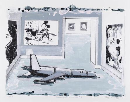 Stephen Farthing, 'Washington Museum II', 2017