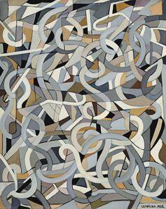 Tamara de Lempicka, 'Composition abstraite aux tourbillons', 1955