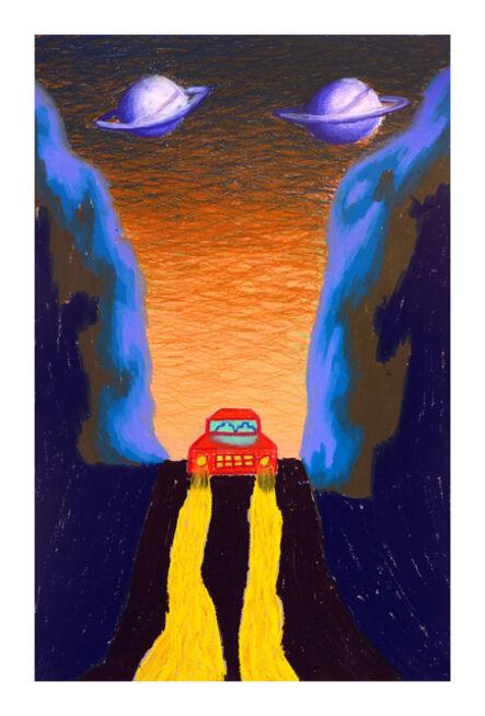 Eliot Greenwald, 'Night Car (Drawing 39)', 2020
