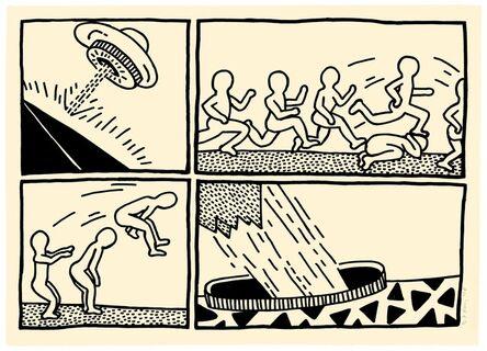 Keith Haring, 'The Blueprint Drawings (#3) (see Littman p.176)', 1990