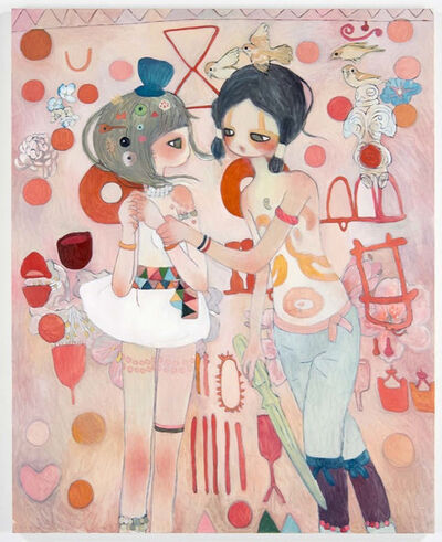 Aya Takano, 'Secrets of the Thousand Year Spiral: Torazuka', 2013