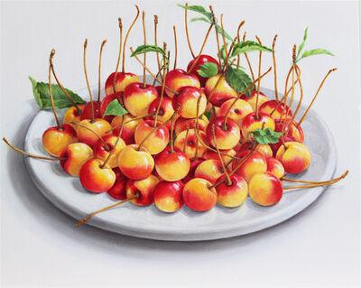 Elizabeth Johansson, 'Plate of Cherries', 2013