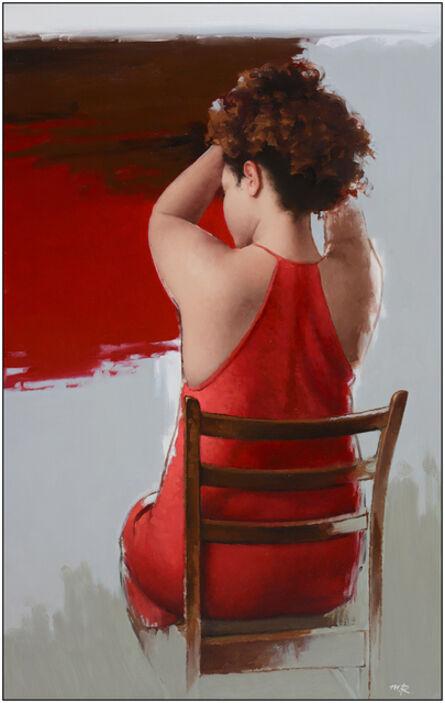 Michael (Misha) Rapoport, 'Lady in Red', 2017