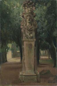 Giacomo Balla, 'Villa Borghese', 1910