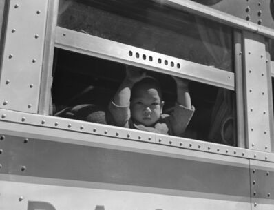 Dorothea Lange, 'Young Child at the Window', 1942