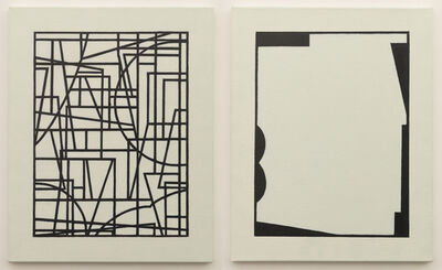 Leif Kath, 'Untitled (diptych)', 2014