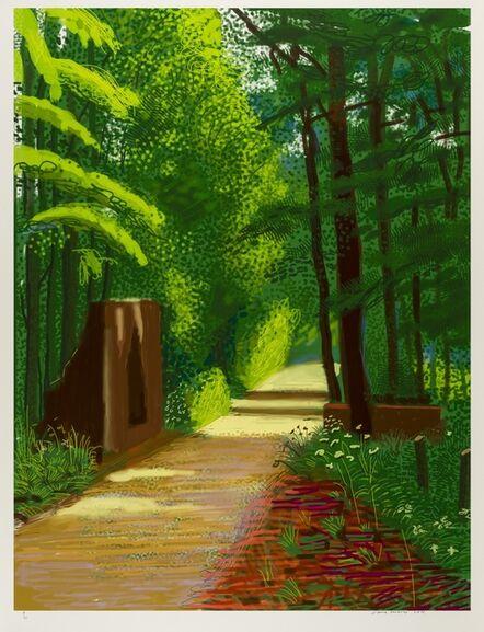 David Hockney, 'The Arrival of Spring in Woldgate, East Yorkshire in 2011 (Twenty-Eleven) - 2 June 2011', 2011