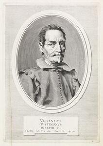 Claude Mellan, 'Vincentivs Ivstinianvs Iosephi . F.', 1631