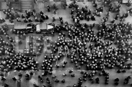 Margaret Bourke-White, 'Hats in the Garment District', 1930