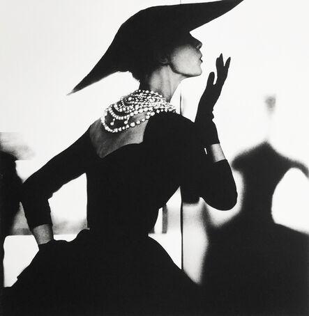 Lillian Bassman, 'Blowing Kiss, Barbara Mullen, New York', ca. 1958