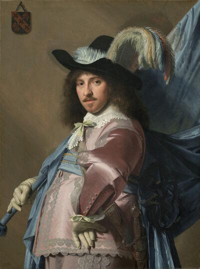 Jan Verspronck, 'Andries Stilte as a Standard Bearer', 1640