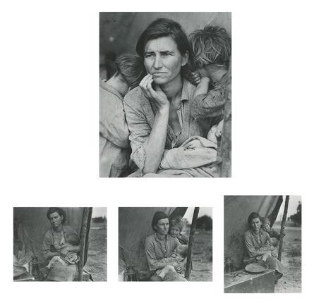 Dorothea Lange, 'Migrant Mother, Nipomo, California (and three variants)', 1936