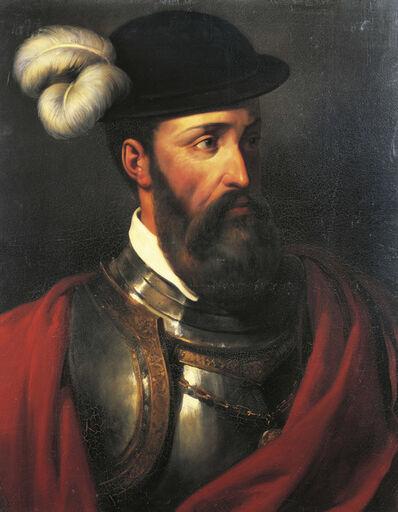 Amable-Paul Coutan, 'Portrait of Francisco Pizarro', 1835