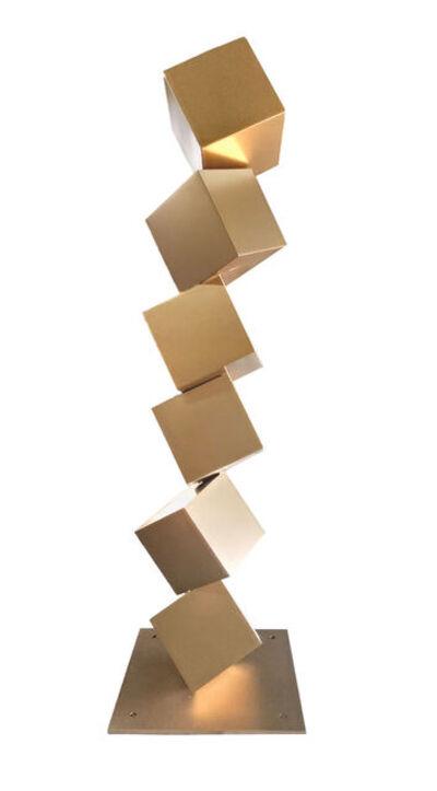 GEORGE PANOSSIAN, 'Cubes Column', 2021
