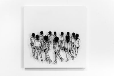Frank Plant, 'Walking in circles', 2017