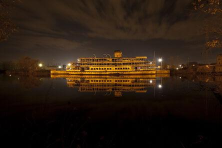 Scott Hocking, 'Detroit Nights, Boblo Boat, Rouge Reflection', 2015