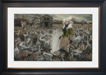 Andrea Kowch, 'The Courtiers - Limited Edition Signed Print', 2016