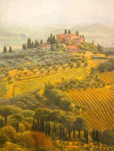 Nicholas Verrall, 'Autumn Light, Tuscany', 2020