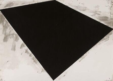 Richard Serra, 'Untitled (or Philip Glass Poster)', 1972