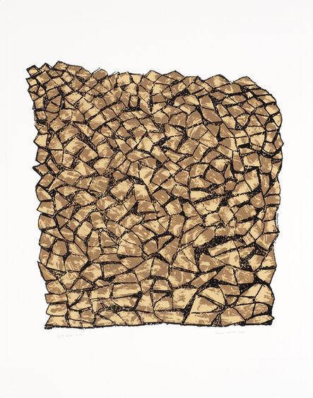 Anni Albers, 'Split Wood', 1983