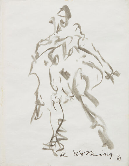 Willem de Kooning, 'Woman', 1963