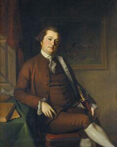 Charles Willson Peale, 'John Philip de Haas', 1772