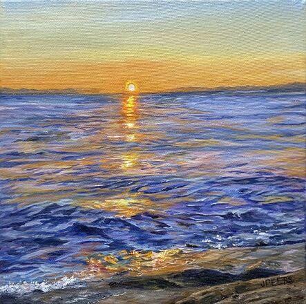 Jennifer Peers, 'Summer Sunrise', 2021