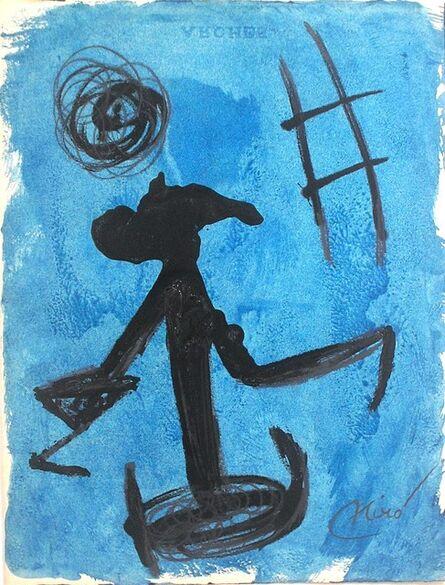 Joan Miró, 'Femme, Echelle de L'Evasion', 1977