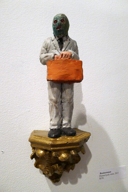 Isaac Cordal, 'Businessman', 2013