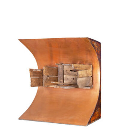 Luis Wells, 'Object of copper and old wood', 1961