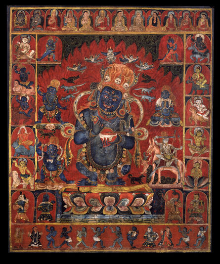 'Panjara Mahakala', 15th century
