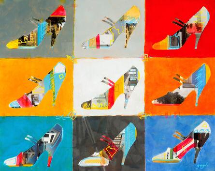 Lenner Gogli, 'Nine Stilettos ', 2014