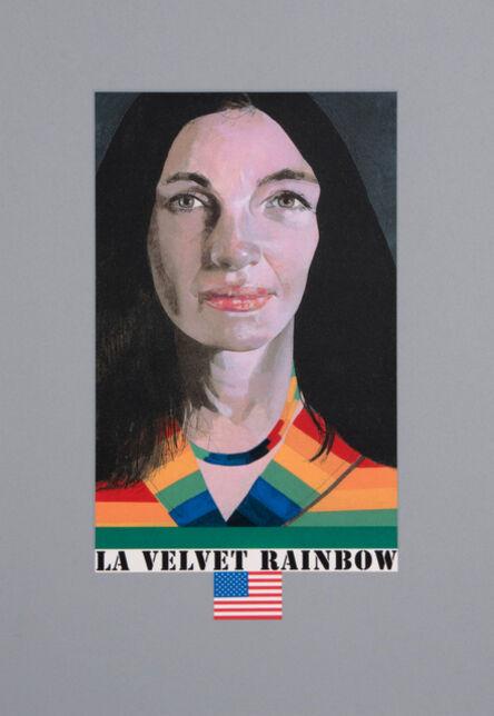 Peter Blake, 'LA Velvet Rainbow', 2017