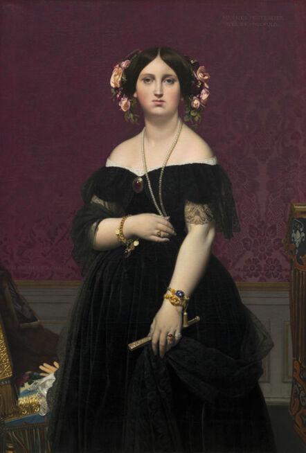 Jean-Auguste-Dominique Ingres, 'Madame Moitessier', 1851
