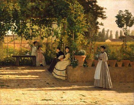 Silvestro Lega, 'The Pergola', 1868